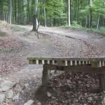 Steilkurve mit Gap